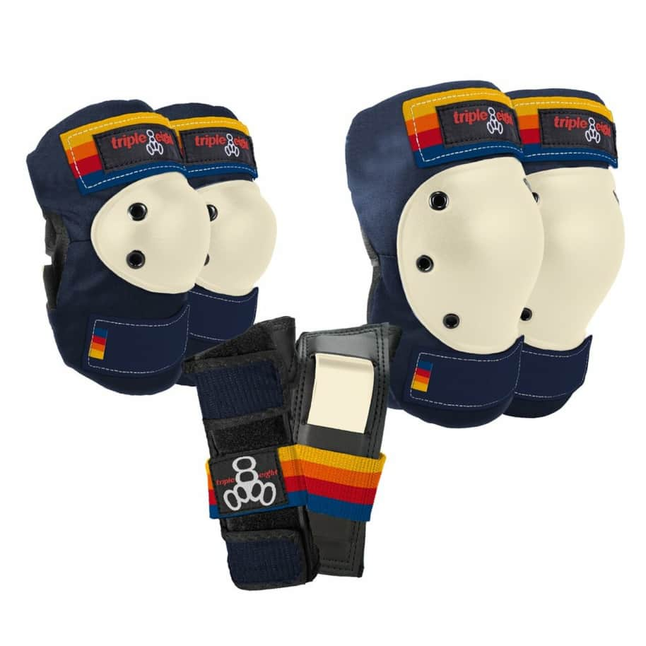Triple 8 Saver Series Pad Set (Pacific Beach)   Pads by Triple Eight Protective Wear 1