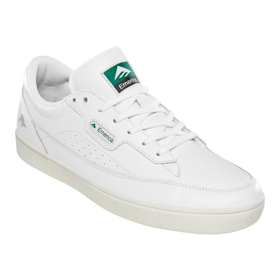 Emerica Gamma Skate Shoes - White | Shoes by Emerica 2