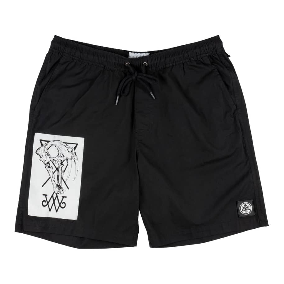 SOFT CORE PRINTED ELASTIC SHORT | Shorts by Welcome Skateboards 1