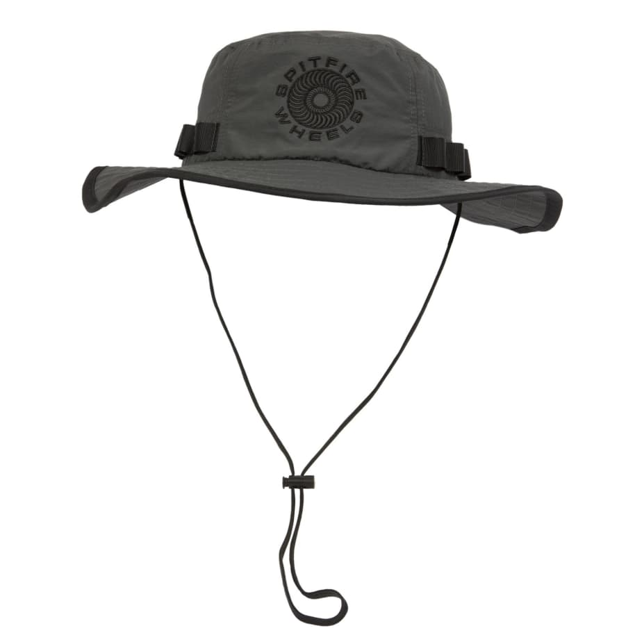 SPITFIRE Classic 87 Swirl Boonie Hat Charcoal | Hat by Spitfire Wheels 1