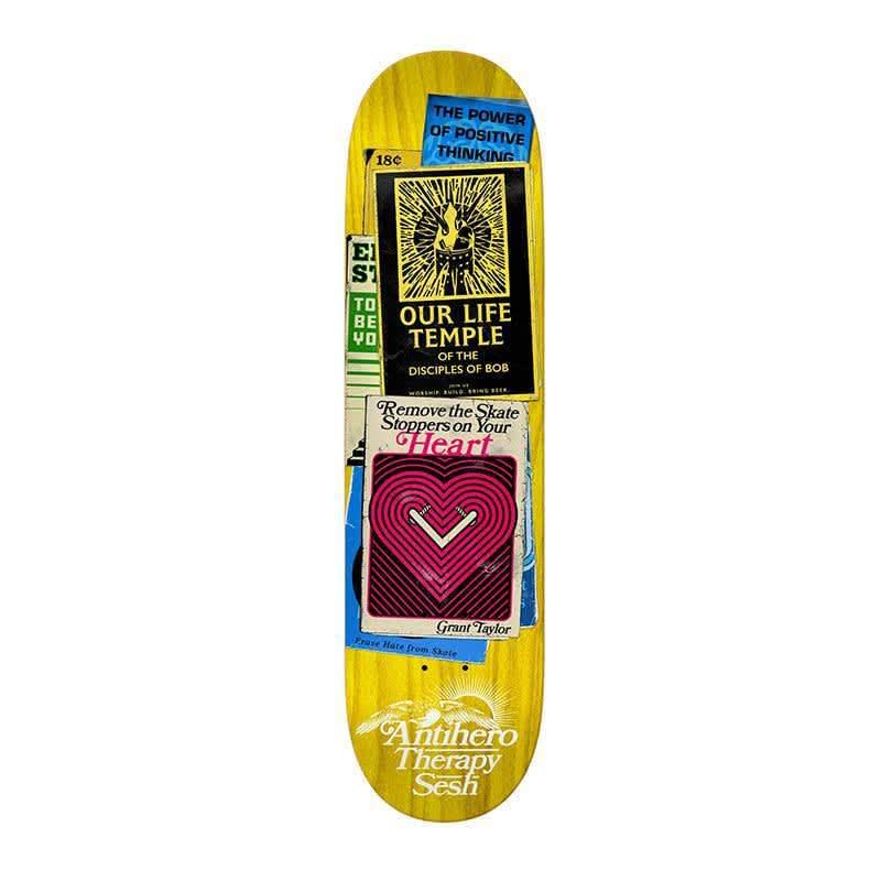 "Anti Hero Deck Taylor Therpay Sesh Multi 8.38"" | Deck by Antihero Skateboards 1"