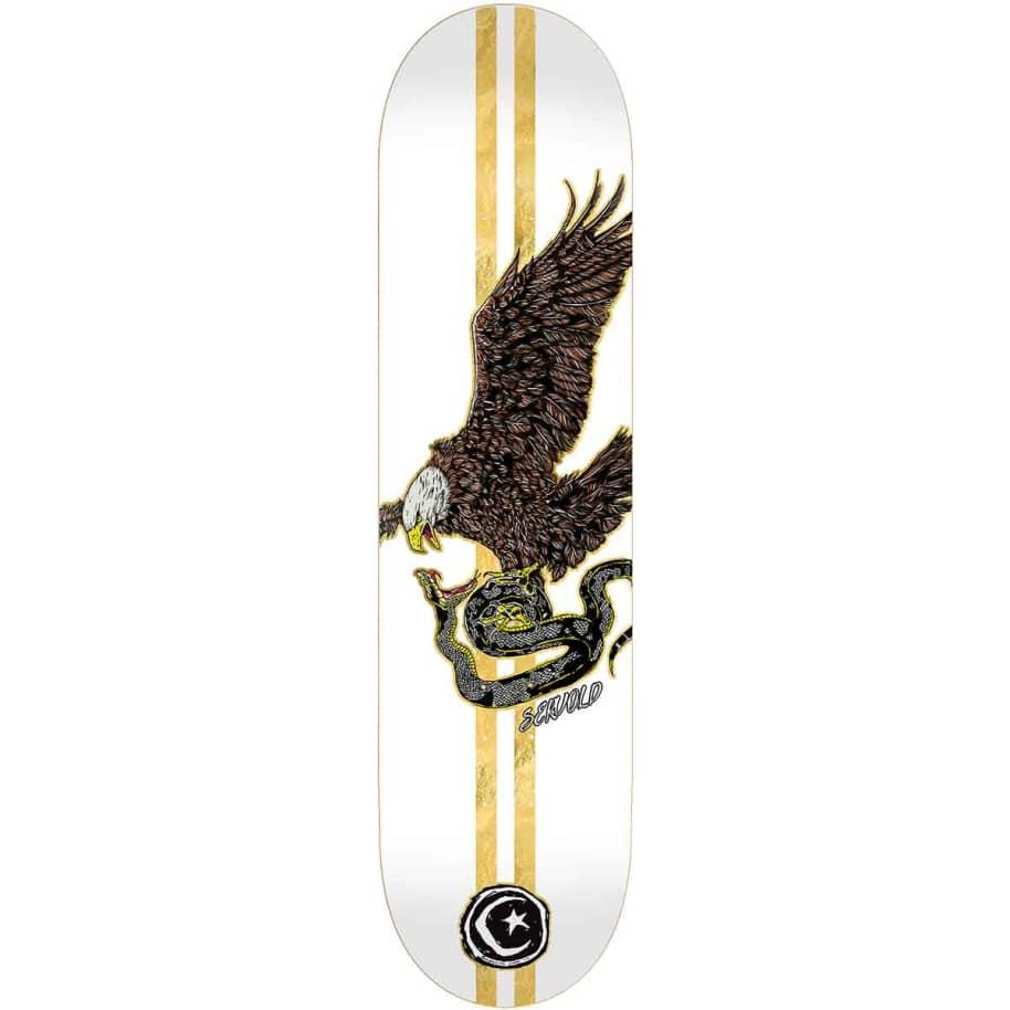 Foundation Servold Eagle White Deck (8.75) | Deck by Foundation 1