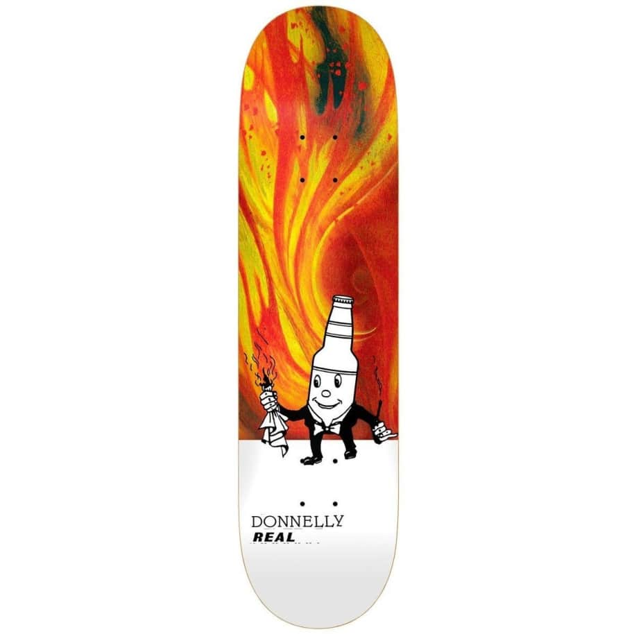 Real Donnelly Burning Dad 8.5 | Deck by Real Skateboards 1