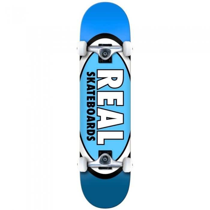 TEAM EDITION OVAL LARGE   Complete Skateboard by Real Skateboards 1