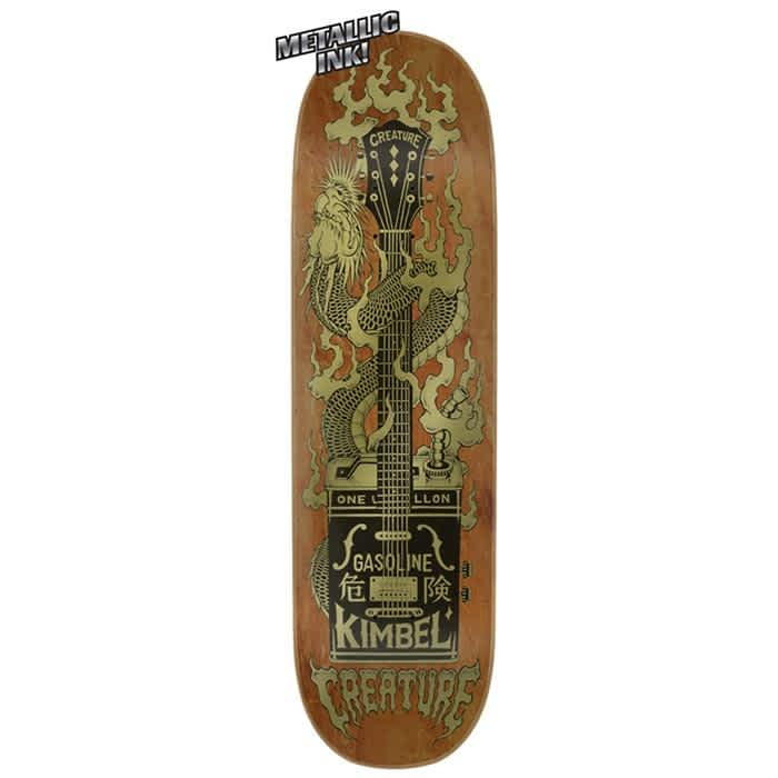 Creature Kimbel Gas Can Flame Deck (9.0) | Deck by Creature Skateboards 1