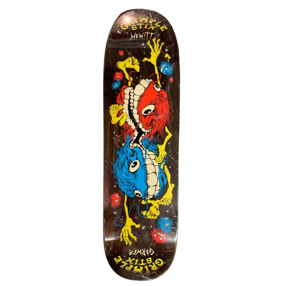 CONJOINED TWINS HEWITT-GERWER (2 Sizes) | Deck by Antihero Skateboards 2