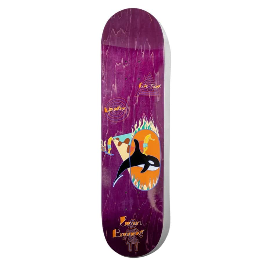 GIRL Bannerot Visualize Deck 8.25 | Deck by Girl Skateboards 1