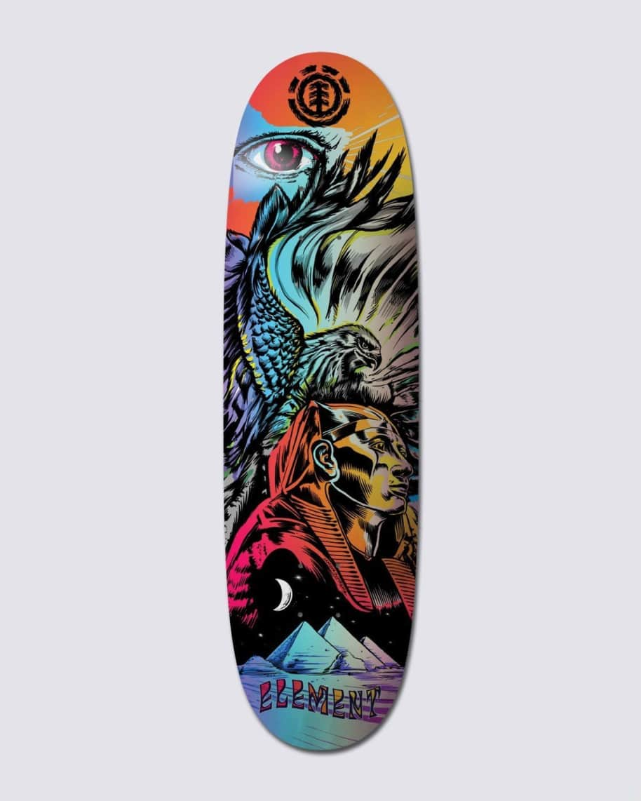 Element L'Amour Pharaoh Skateboard Deck 9.0 | Deck by Element 1