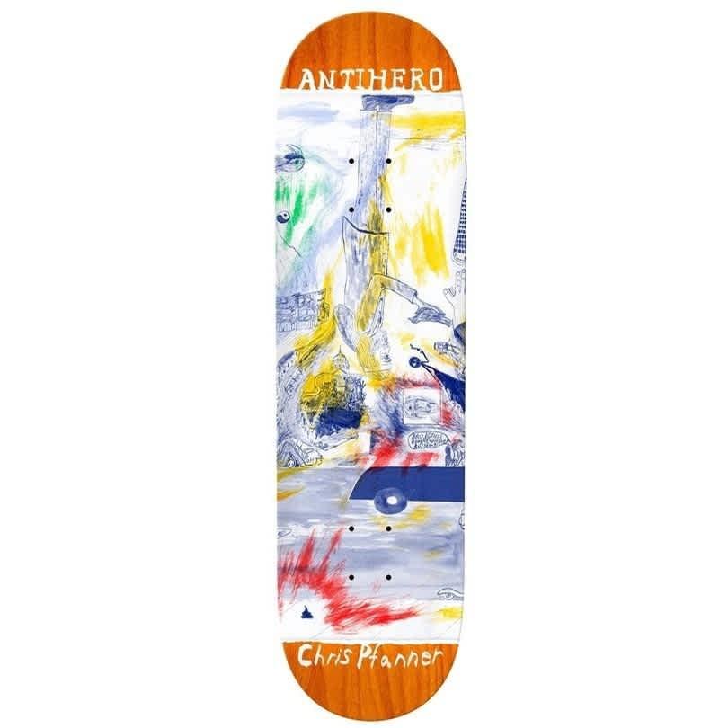 "Antihero Pfanner SF Then And Now Deck 8.06"" | Deck by Antihero Skateboards 1"