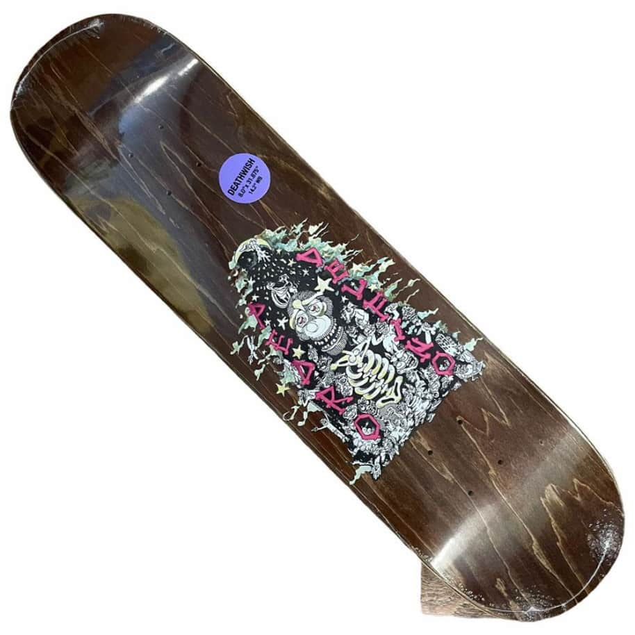 Deathwish Deck PD Mice and Men 8x31.8 | Deck by Deathwish 1