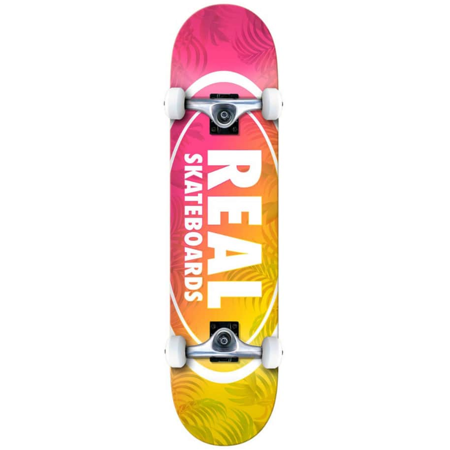 ISLAND OVALS SMALL | Complete Skateboard by Real Skateboards 1