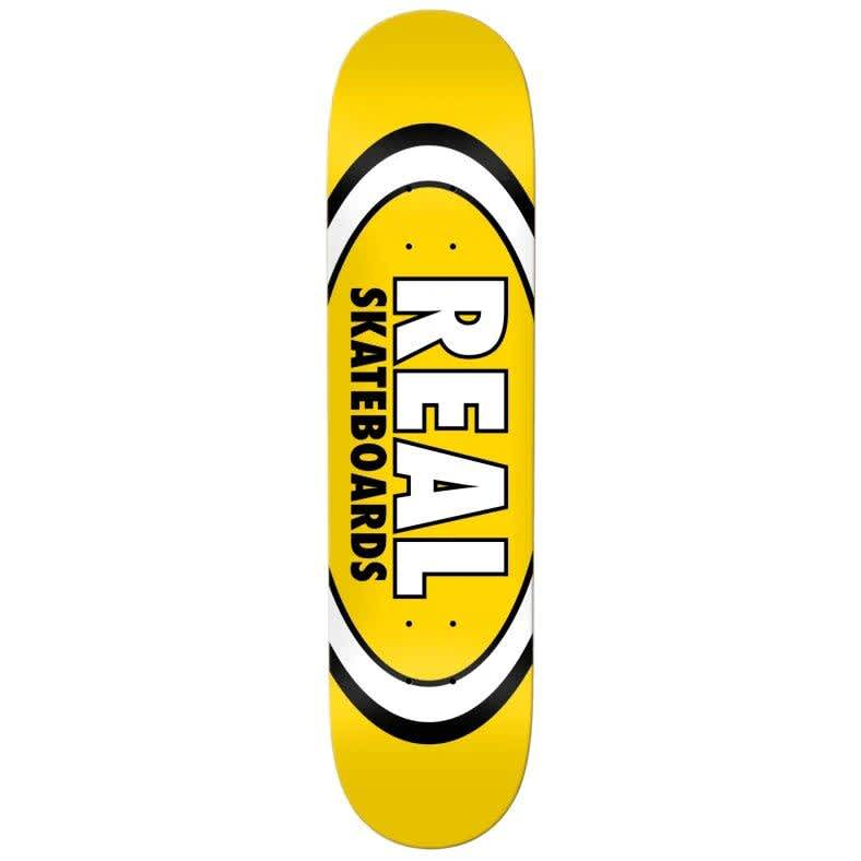 REAL Classic Oval Deck 8.06   Deck by Real Skateboards 1
