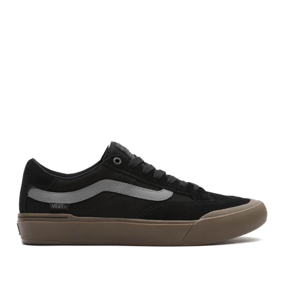 Vans Berle Pro Skate Shoes - Black / Dark Gum | Shoes by Vans 1