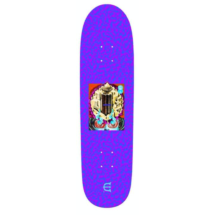 Evien Skateboards Club W Skateboard Deck Purple - 8.8   Deck by Evisen Skateboards 1