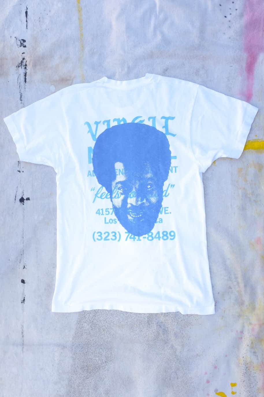 Donald Byrd Short Sleeve Vintage Tee Shirt | T-Shirt by Virgil Normal 1