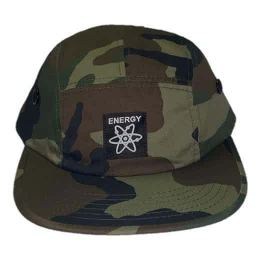 Energy Skate Shop OG Logo 5-Panel Hat (Camo) | Baseball Cap by Energy Skate Shop 2