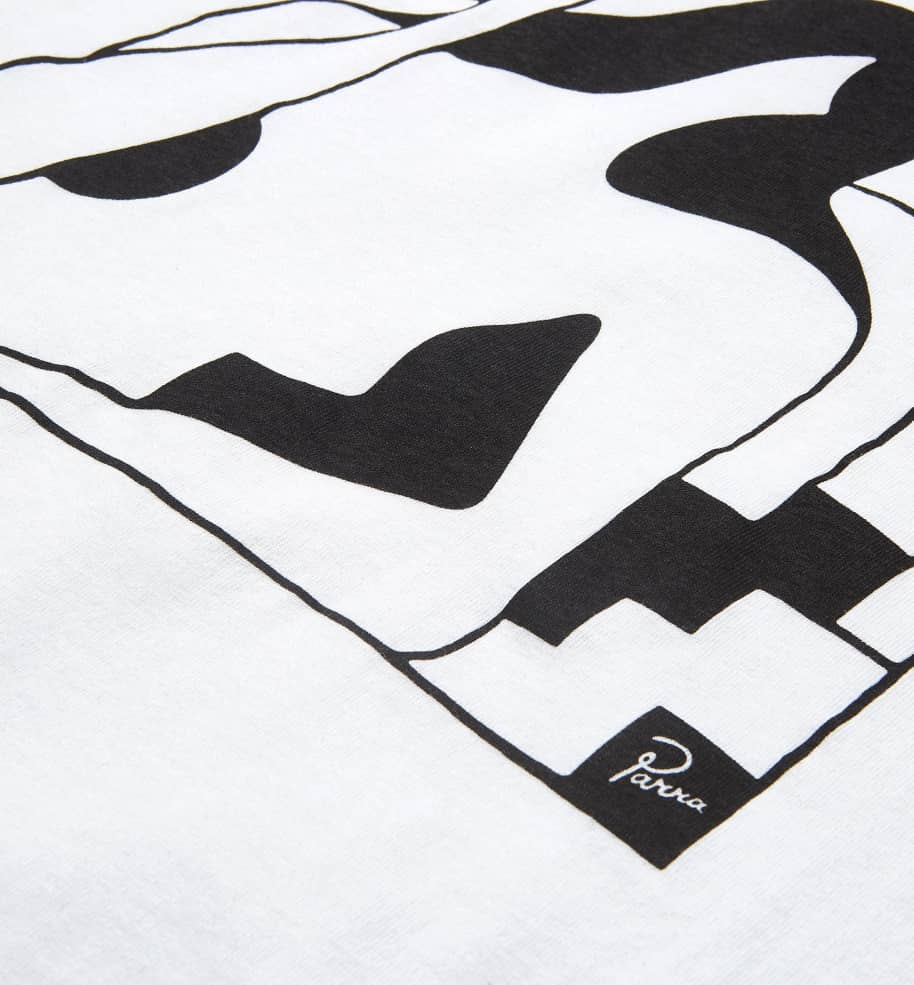by Parra Lockdown Short Sleeve T-Shirt - White   T-Shirt by by Parra 2