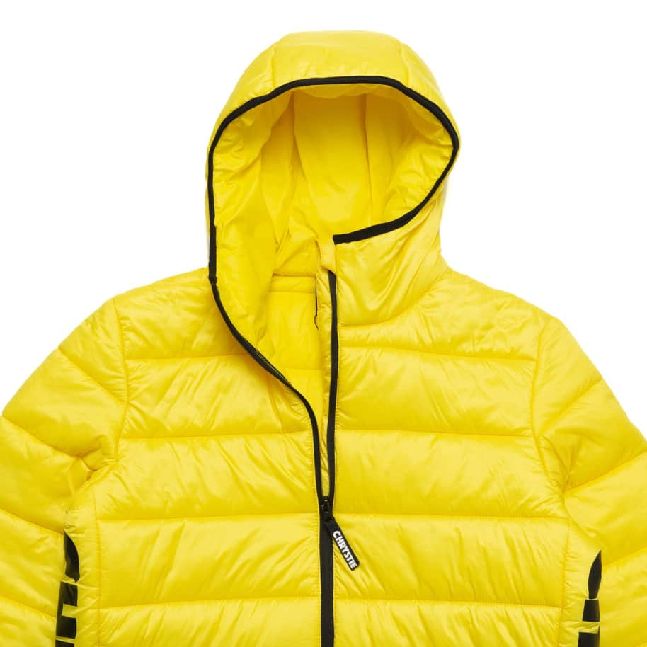 Chrystie NYC - OG Logo Puffer Jacket / Bumblebee Yellow   Jacket by Chrystie NYC 3