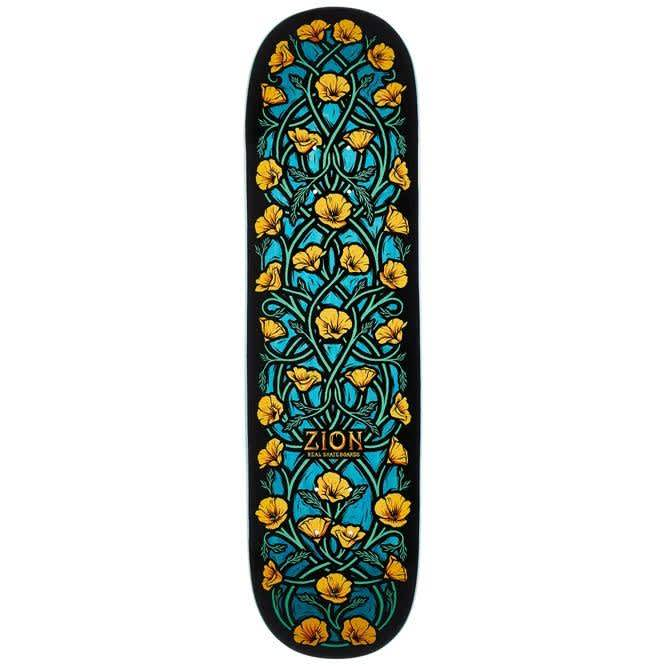 Real Zion Intertwined Deck (8.5) | Deck by Real Skateboards 1