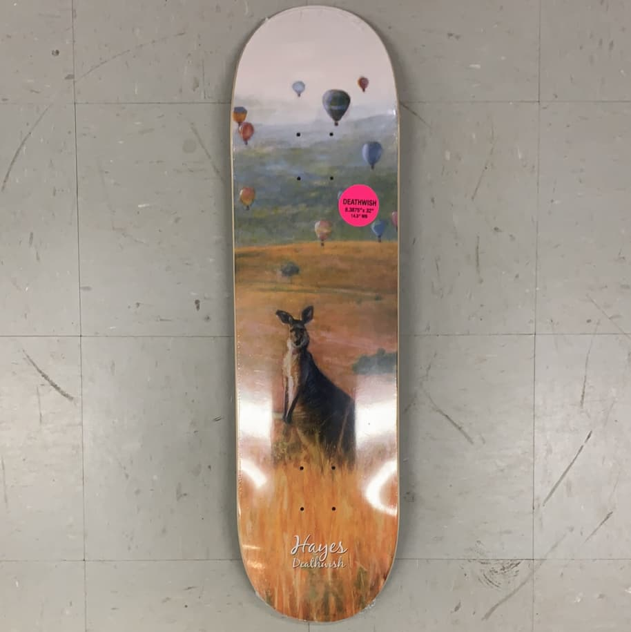 Deathwish Skateboards Jake Hayes Hopper Deck 8.3875 | Deck by Deathwish 1