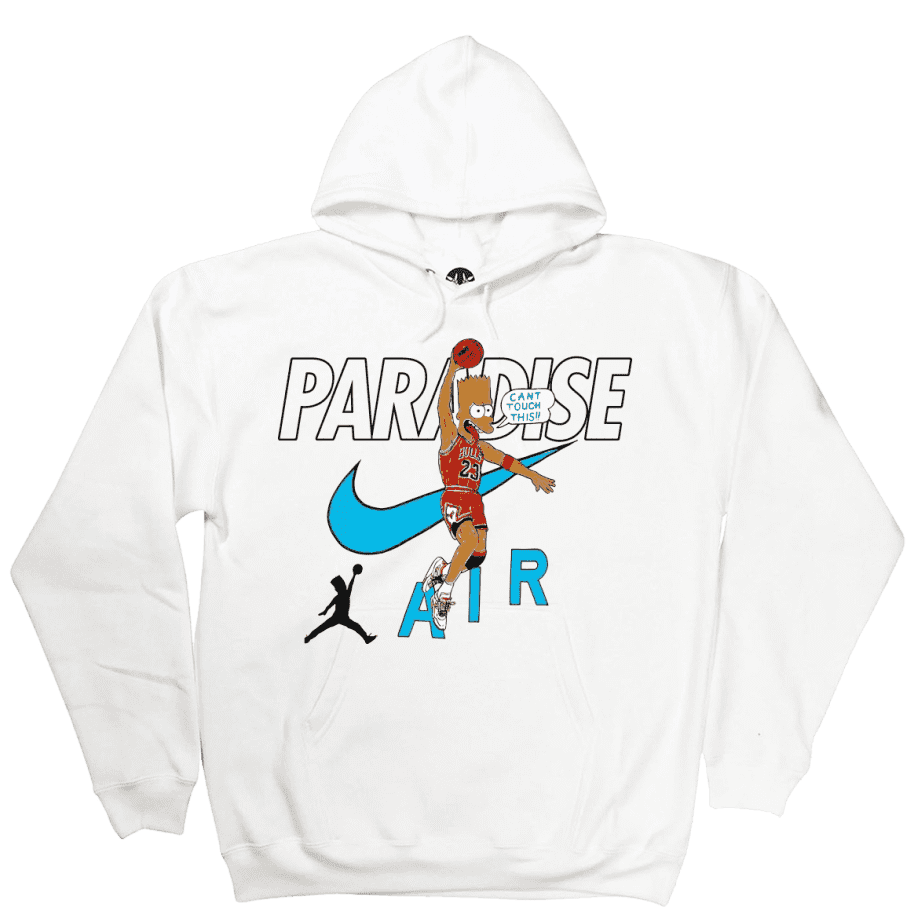 Paradise.NYC Can't Touch This Hoodie - White | Hoodie by Paradise.NYC 1