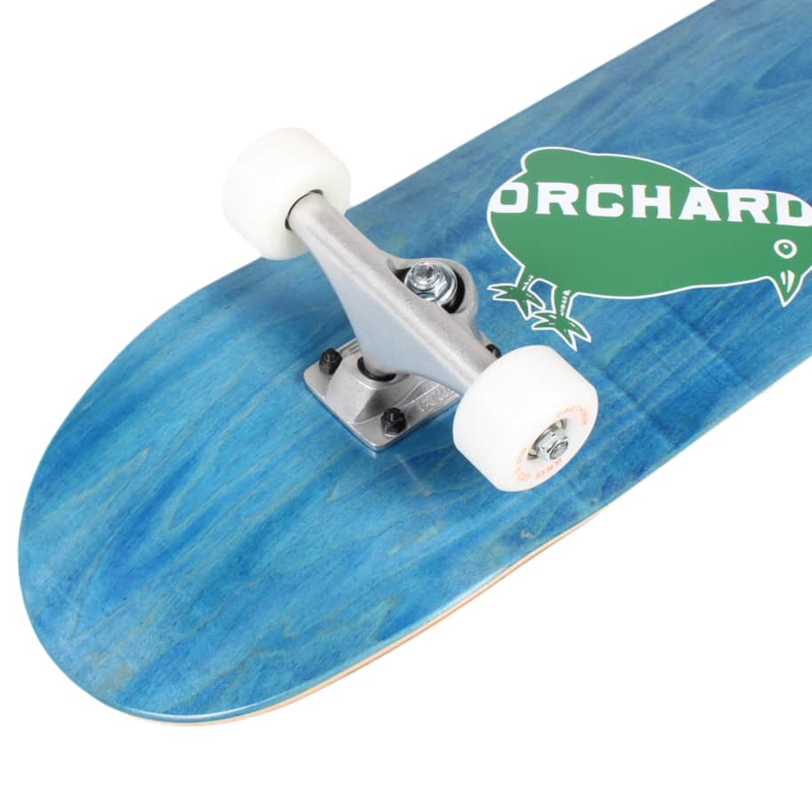 Orchard Green Bird Logo Hybrid Complete 7.8 Blue (With Free Skate Tool) | Complete Skateboard by Orchard 4