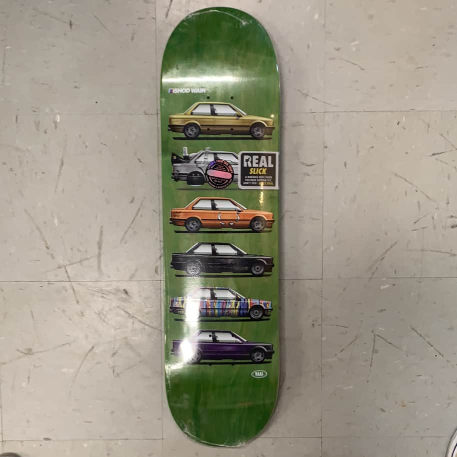 Real Skateboards Ishod Wair Twin Tail Customs Slick Deck 8.3   Deck by Real Skateboards 1