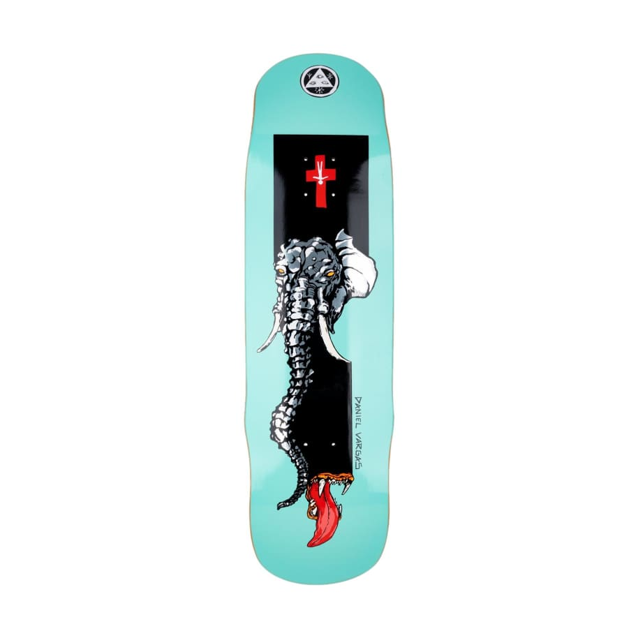 Welcome Tusk on Effigy 8.8   Deck by Welcome Skateboards 1