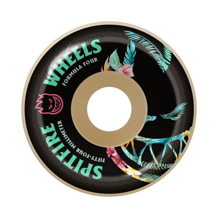 Spitfire - 56mm F4 99 Floral Bighead Conical | Wheels by Spitfire Wheels 1