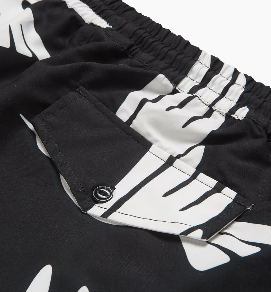 by Parra Static Flight Swimshorts - Black | Shorts by by Parra 4