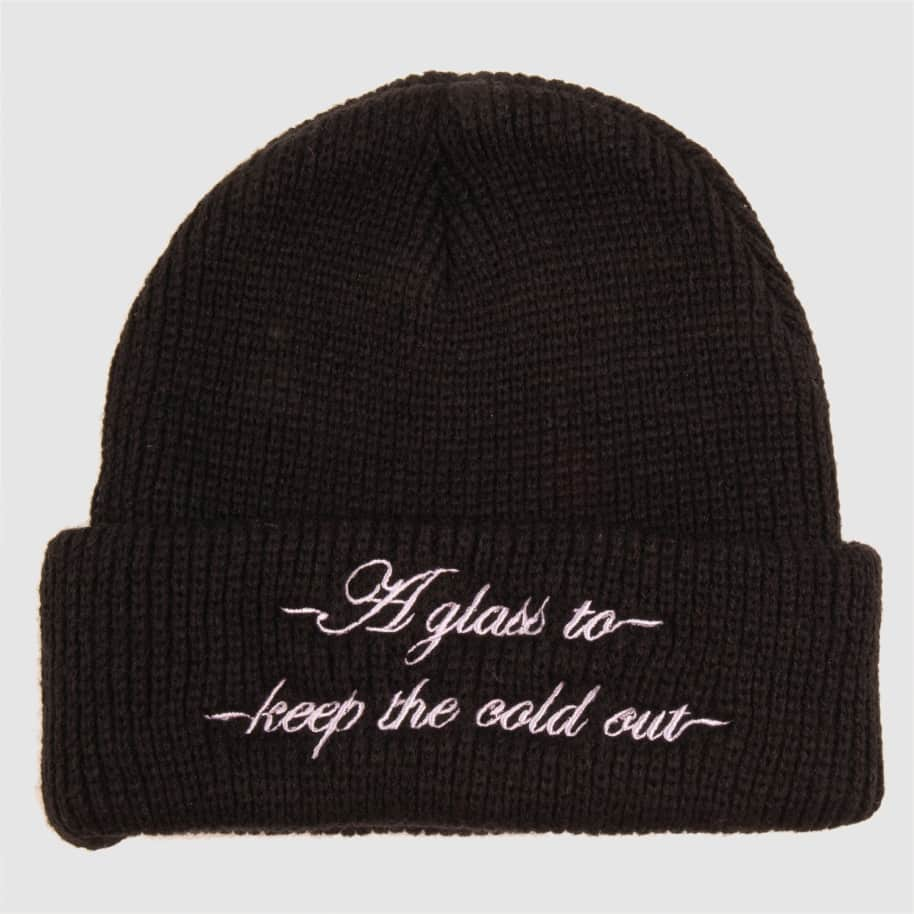 Pass~Port Cold Out Beanie - Black | Beanie by Pass~Port Skateboards 2