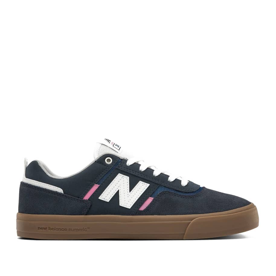 New Balance Numeric 306 Shoes - Navy / Pink | Shoes by New Balance 1