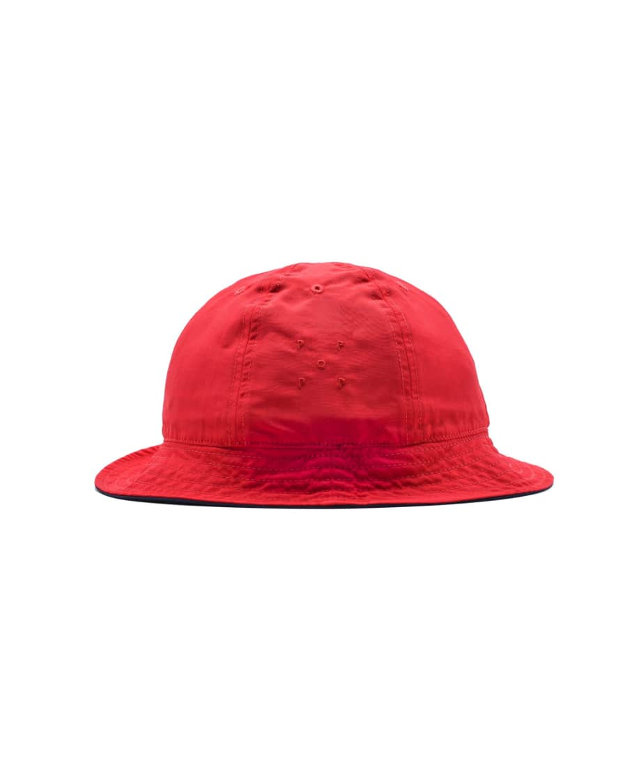 Pop Trading Company Reversible Bell Hat - Navy / Red | Bucket Hat by Pop Trading Company 2