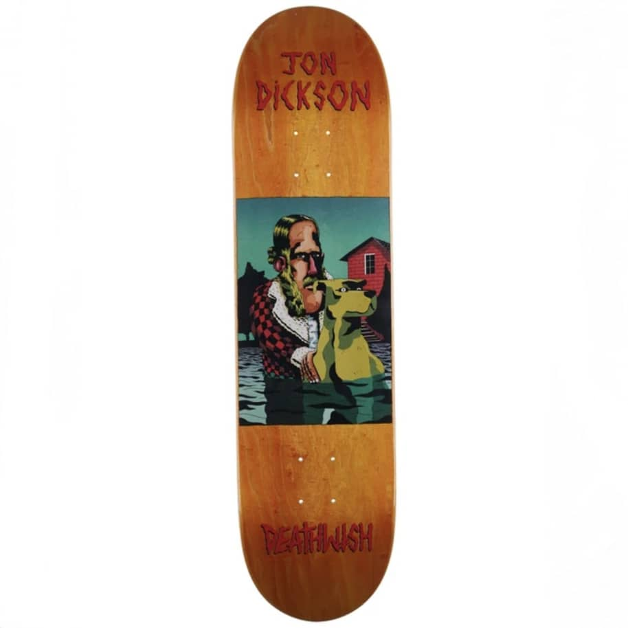 Deathwish Jon Dickson The Pond Skateboard size 8 | Deck by Deathwish 1