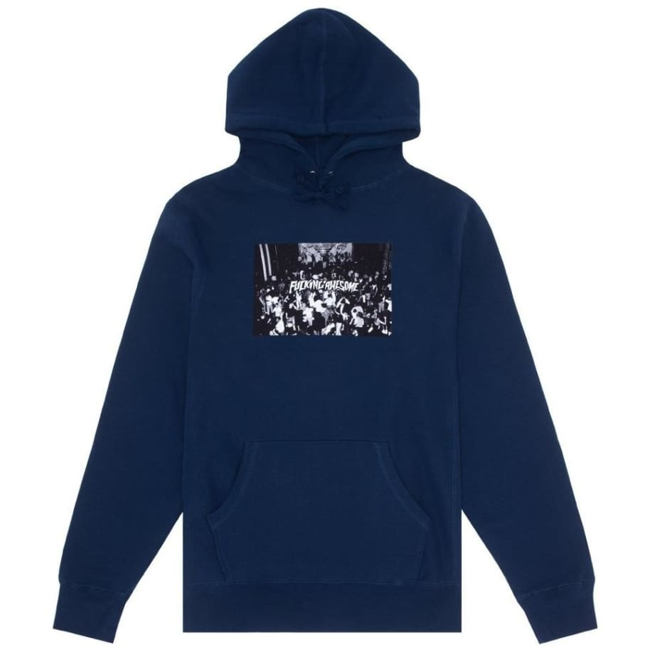 Fucking Awesome Club Hoodie - Navy   Hoodie by Fucking Awesome 1