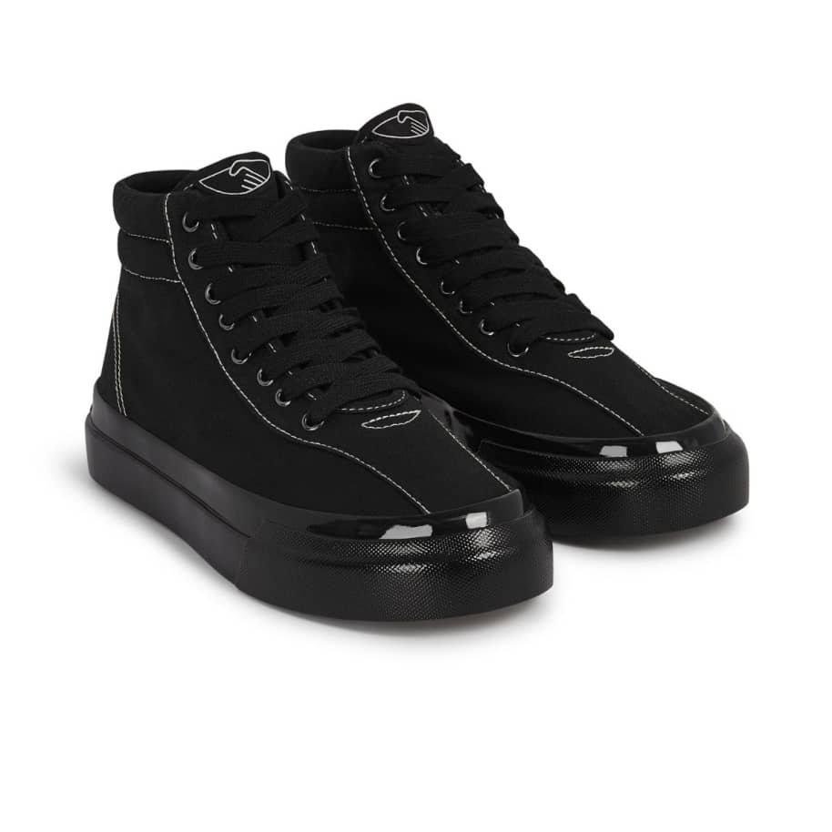 Stepney Workers Club Varden Womens Canvas Shoes - Black / Black | Shoes by Stepney Workers Club 2