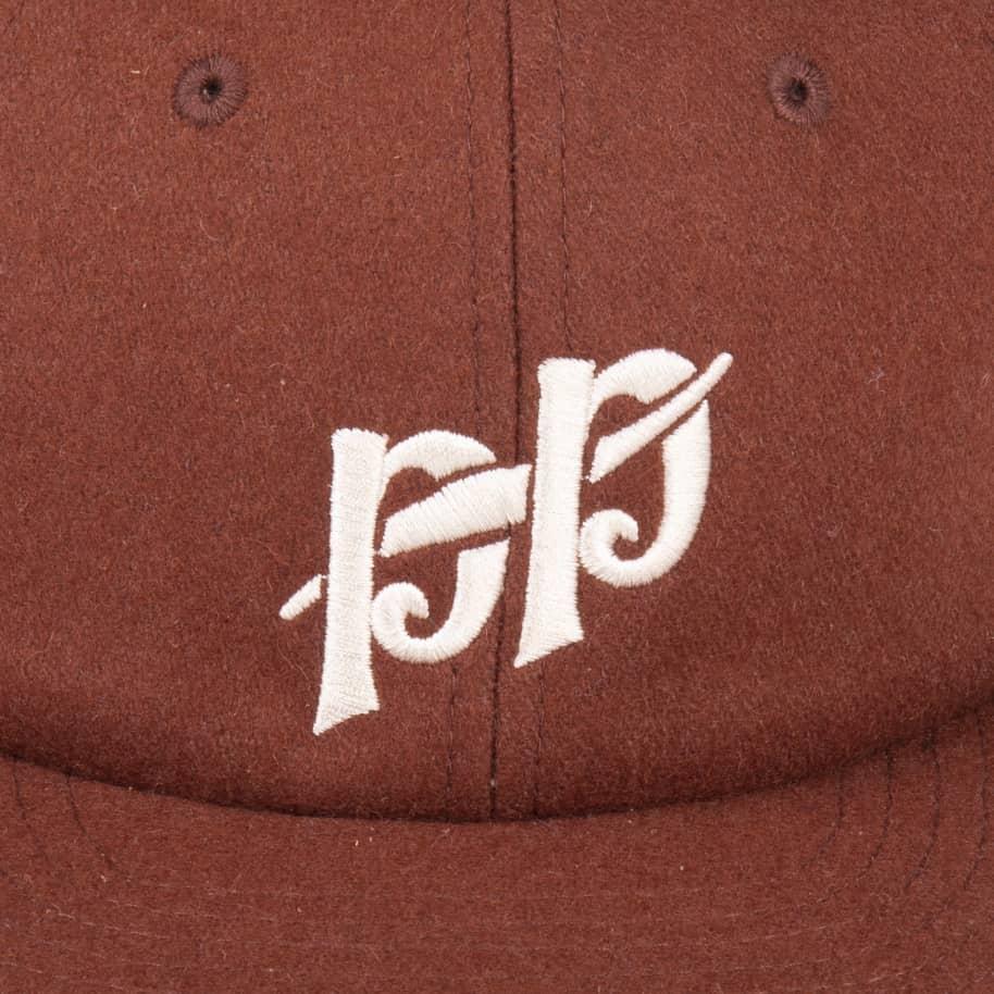 Pass~Port P~P Wool 6 Panel Cap - Brown | Snapback Cap by Pass~Port Skateboards 2