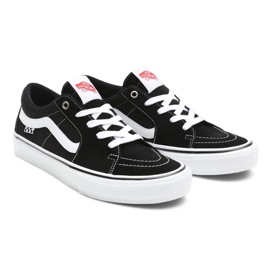 Vans Skate Sk8-Low Pro Shoes - Black / White   Shoes by Vans 4