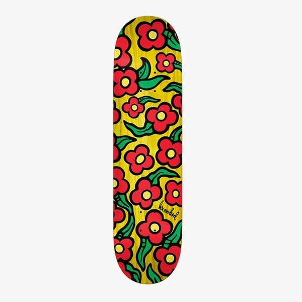 Krooked wild style flowers 8.25 | Deck by Krooked Skateboards 1