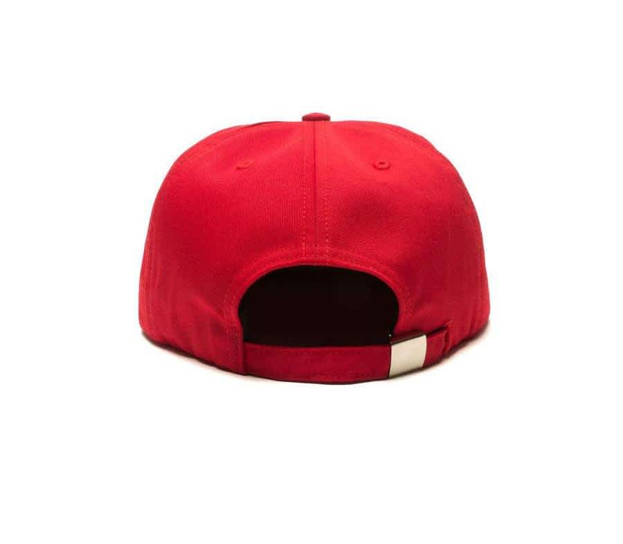 Call Me 917 Typography Cap - Red | Baseball Cap by Call Me 917 2