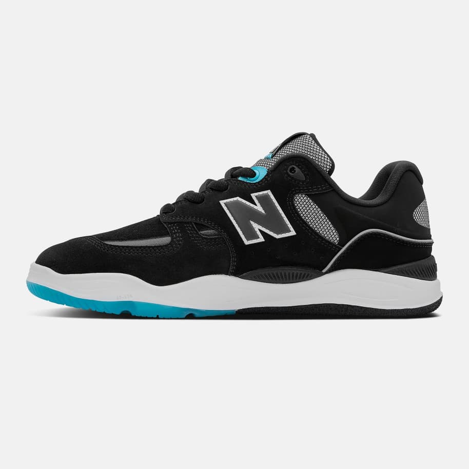 New Balance Numeric Tiago 1010 Shoes - Black / Blue | Shoes by New Balance 3
