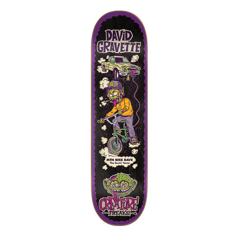 "Creature Gravette Freaks 8.3"" Deck | Deck by Creature Skateboards 1"