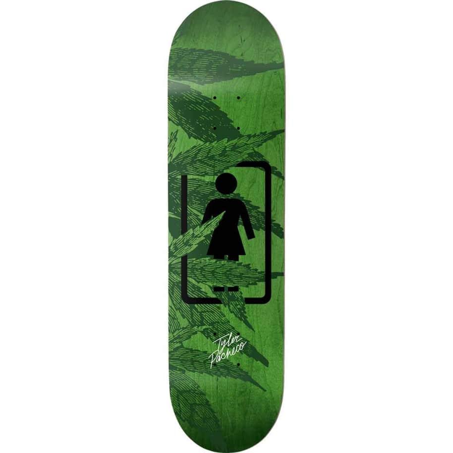 "Girl Smoke Session Tyler Pacheco Skateboard Deck - 8""   Deck by Girl Skateboards 1"