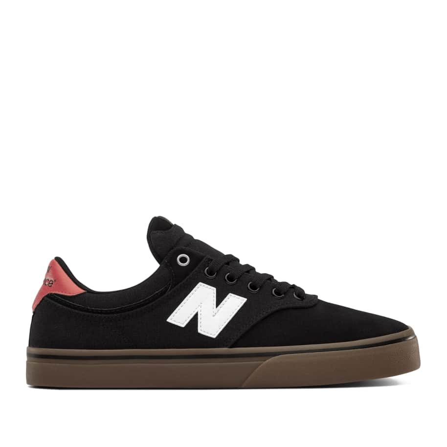 New Balance Numeric 255 Shoes - Black / White | Shoes by New Balance 1