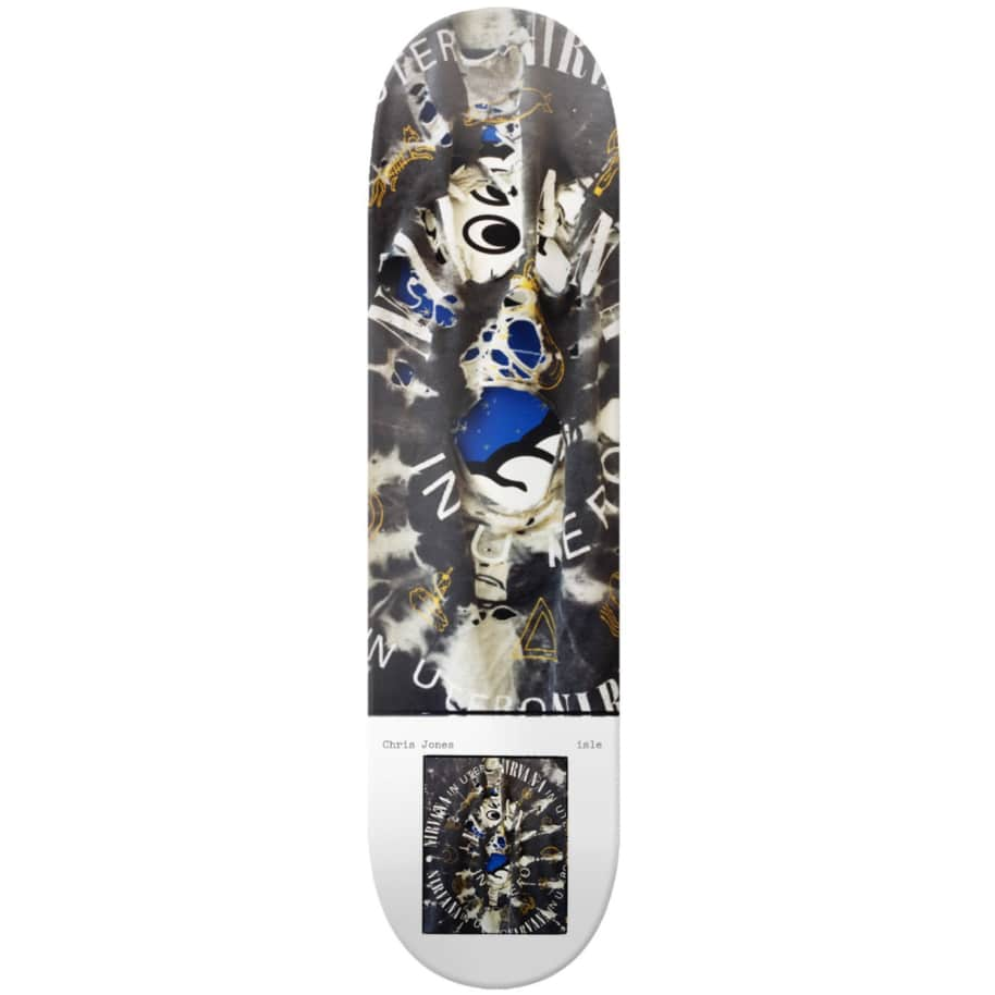 """Isle Milo Brennan Series Chris Jones Deck 8.25""""   Deck by Isle Skateboards 1"""