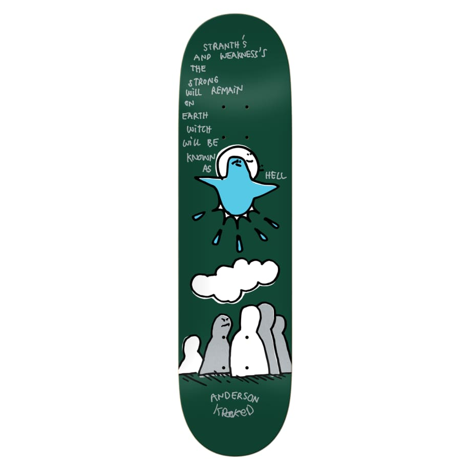 """Krooked - 8.25"""" Manderson Hell 