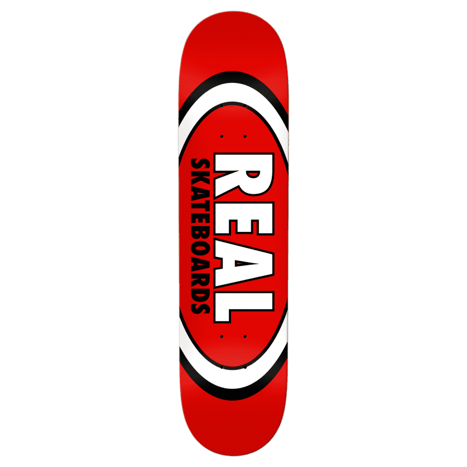 """Real - 8.12"""" Classic Oval   Deck by Real Skateboards 1"""
