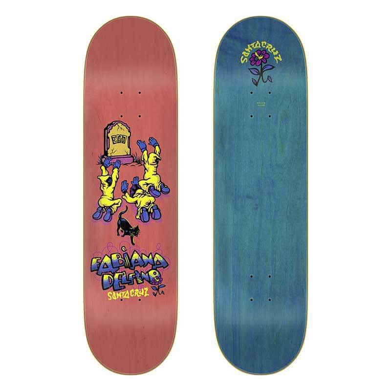 "Santa Cruz Delfino Ego deck (8.25"") 