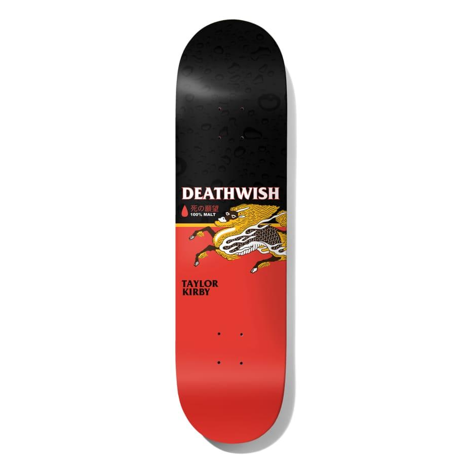 Deathwish Skateboards Taylor Kirby The Messenger Skateboard Deck - 8.25 | Deck by Deathwish 1