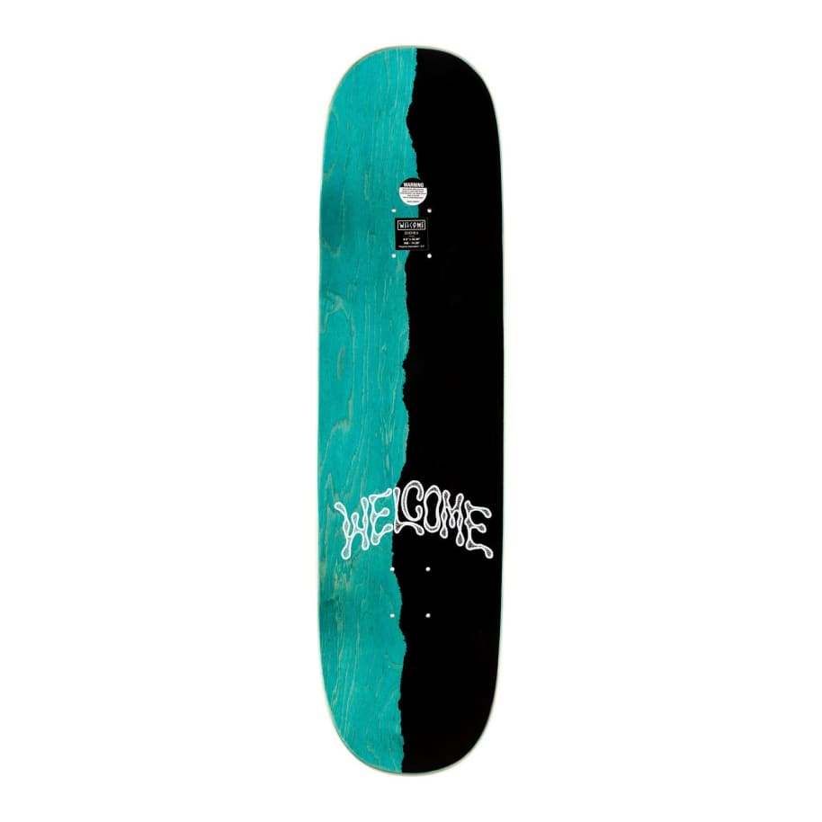 """Welcome Hummingbird - Ryan Townley Pro Model Deck - 8.5""""   Deck by Welcome Skateboards 2"""